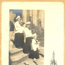 Image of Christmas Card - The Ashford Girls - Print, Photographic