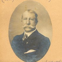 Image of Maj William B. C. Duryee (1838-1913) vestryman and tenor soloist - Print, Photographic