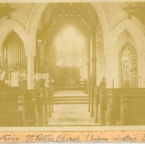 Image of Borden-Jeffreys wedding St Peters - Print, Photographic