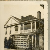 Image of The St Peter's Rectory next to the church. - Print, Photographic