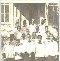Image of A boys choir