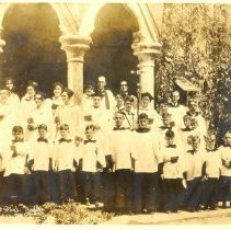 Image of St. Peter's Church Choir - Print, Photographic
