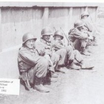 Image of Behind school wall, prior evac