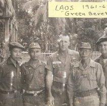 Image of Laos 1961-62 Green Berets