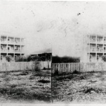 Image of House of Confederate General Joseph Finegan - Stereoview