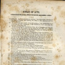 Image of Acts of Resolutions of First General Assembly