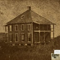 Image of R. R. Office Fernandina 1869    - Print, Photographic
