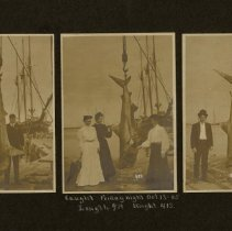 Image of Scenes on waterfront 1905   - Print, Photographic