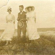 Image of At Amelia Beach 1910 - Print, Photographic