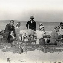 Image of Group at Fort Clinch - Print, Photographic