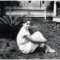 Image of Rila McGillary (possibly)    - Print, Photographic