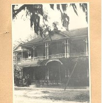 Image of Marcellus A Williams residence 9th and Ash Streets - Print, Photographic