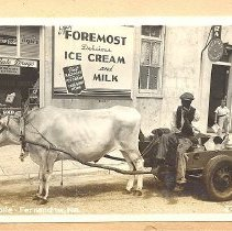 Image of Bullmobile and Waas Drugs - Postcard