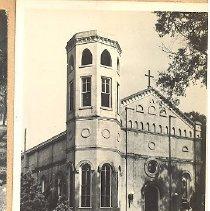 Image of St. Michaels Catholic Church - Postcard