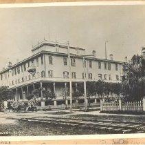 Image of Egmont Hotel 1880 (?) - Print, Photographic