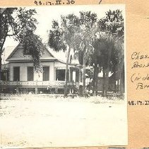 Image of Charles Lasserre residence (in old Egmont Park) - Print, Photographic