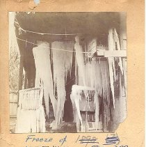 Image of Freeze of February 1899 - Print, Photographic