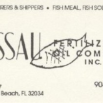 Image of Nassau Fertilizer & Oil Co., Inc. correspondence - Card, Identification