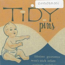 Image of Tidy Pins - Diaper
