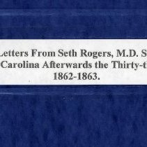 Image of Letters of Major Seth Rogers, M. D.