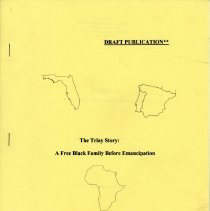 Image of The Triay Story: a free black family before emancipation - Book