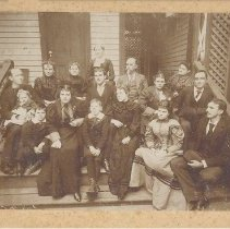 Image of MacDonell family photo, date unknown