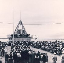 Image of Dedication of the Florida Welcome Station January 1963 - Print, Photographic