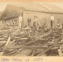 Image of After the Storm of 1898 - Print, Photographic