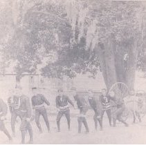 Image of 12 members of the Fernandina Fire Brigade #2 - Print, Photographic