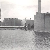 Image of Reservoir with Pumphouse and CO2 Chamber - Print, Photographic