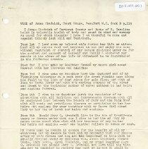 Image of Wills of James Chadwick, Thomas Chadwick and Samuel Chadwick (copies) - Papers, Personal