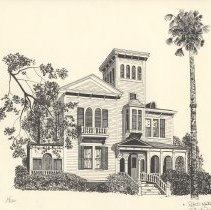 Image of Fairbanks House - Drawing