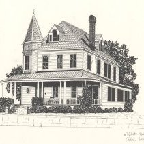 Image of Horsey House - Drawing