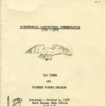 Image of Bicentennial Agricultural Comemoration
