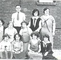 Image of Fernandina High School Class of 1924 - Print, Photographic