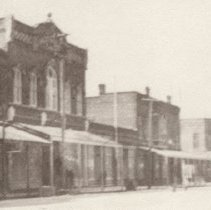 Image of Centre Street looking west - Print, Photographic