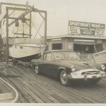Image of Boat launching at Sportsman's Wharf