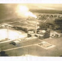 Image of Aerial view of Smurfit Stone facility - Print, Photographic