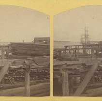 Image of Stereoview:  Harbor, Fernandina, Florida - Stereoview