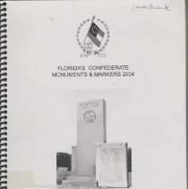 Image of Florida's Confederate monuments and marks. - BOOK