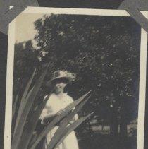 Image of Girl in white dress