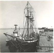 "Image of The "" Clorinda ""at the Fernandina docks. - Print, Photographic"