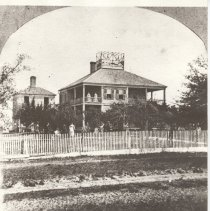 Image of S T Riddell residence 1875 - Print, Photographic