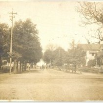 Image of South 7th Street, Bailey House on the right. - Print, Photographic