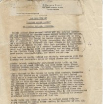 """Image of Letter about restoration of """"Mision Santa Maria""""  - Letter"""