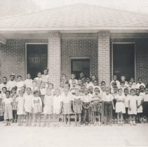 Image of St. Peter Claver School, ca. 1955 - Print, Photographic