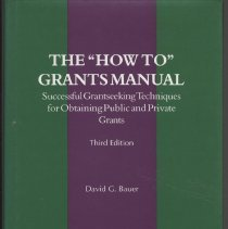 "Image of The ""How To"" Grants Manual: Successful Grantseeking Techniques for Obtaining Public and Private Grants - Book"