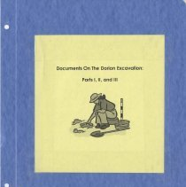 Image of Documents on the Dorion Excavation: Part I, II, & III - Book