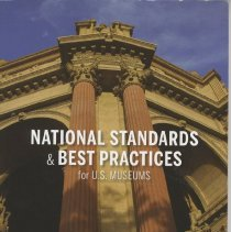 Image of National standards & best practices for U. S. museums - Book