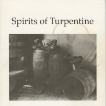 Image of Spirits of turpentine:  A history of Florida naval stores 1528 to 1950. - Book